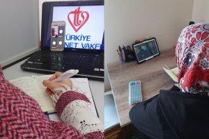 TDV'den burslu öğrencilere online kamp
