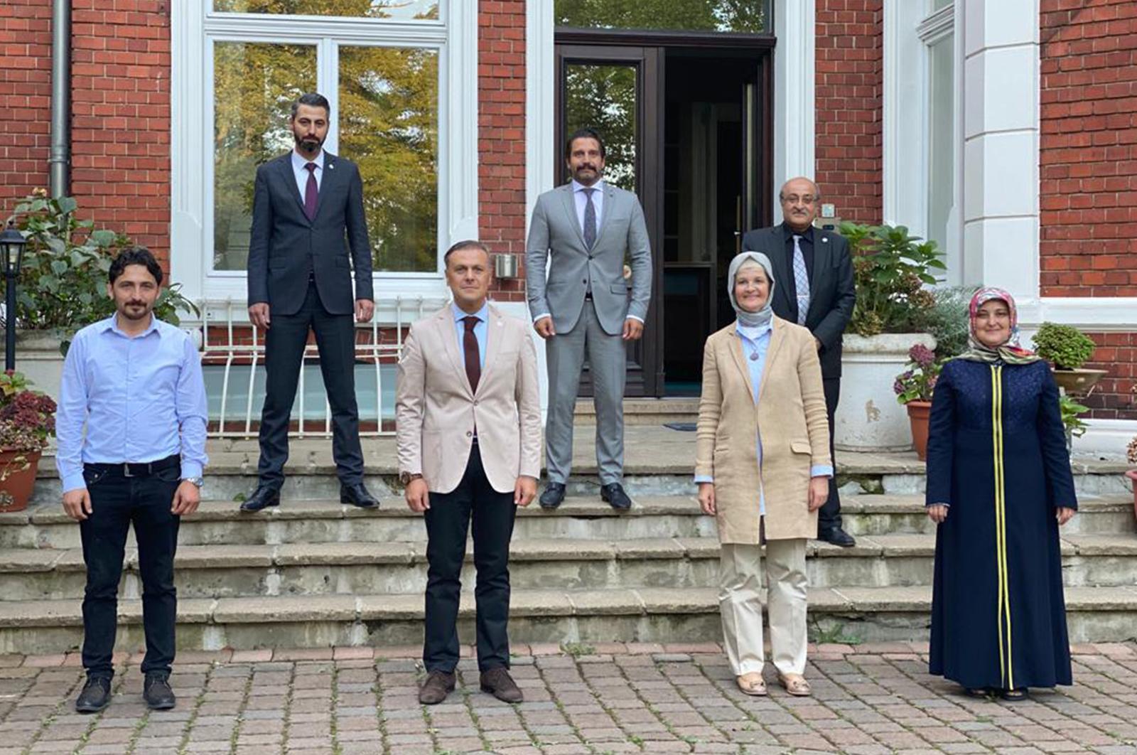 AK Parti Almanya Temsilcisi Göka, KRV'de bir dizi ziyaretlerde bulundu