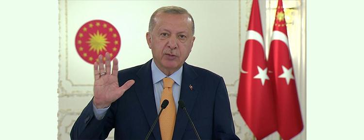 Erdoğan: Salgınla birlikte 'Dünya Beşten Büyüktür' tezinin haklılığını bir kez daha görmüş olduk