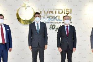 UID Genel Başkanı Bilgi,  YTB Başkanı Eren ile bir araya geldi