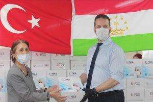 Tacikistan'a en çok insani yardım eden  Türkiye oldu