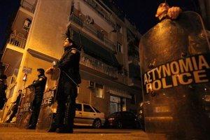 Yunanistan'da terör örgütü polisle çatıştı