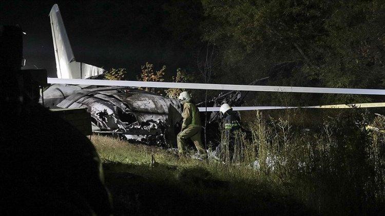 Ukrayna'da askeri uçağın düşmesi sonucu ölenlerin sayısı