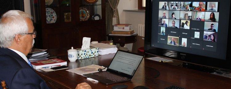 IRCICA Genel Direktörü Eren, ALECSO'da kültür mirasının korunmasına vurgu yaptı