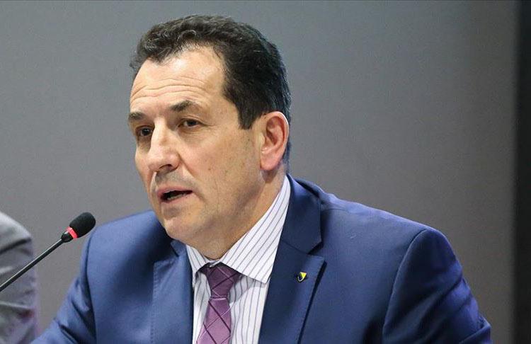 Bosna Hersek Güvenlik Bakanı Cikotic Kovid-19 testi pozitif çıktı