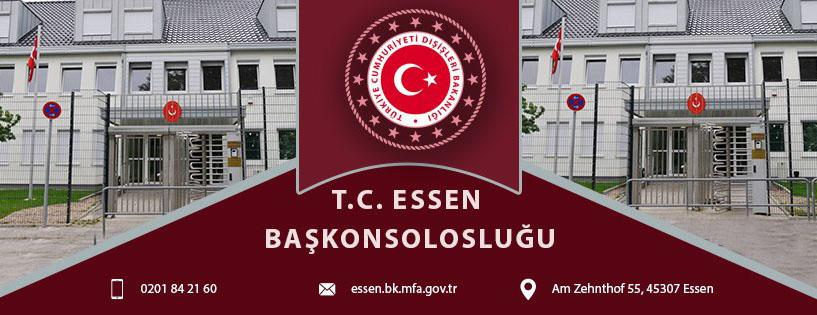 T.C. Essen Başkonsolosluğun Kovid-19 duyurusu