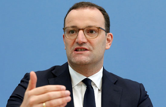 Almanya Sağlık Bakanı Kovid-19 yakalandı