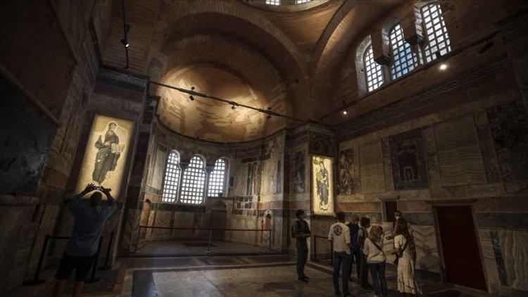 İstanbulda Kariye Camii 30 Ekim'de ibadete açılıyor