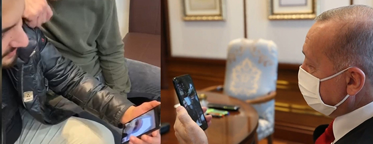 Cumhurbaşkanı Erdoğan, Avusturya'daki saldırıda polisi kurtaran Türk gençlerle telefonda görüştü