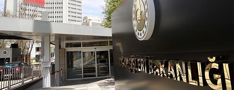 AB, İtalya büyükelçileri ve Almanya Maslahatgüzarı Dışişleri Bakanlığına çağrıldı