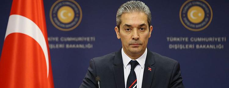 'İrini operasyonu, Hafter'e gelen silahları denetlemeyen, meşru Libya hükümetine yönelik harekattır'