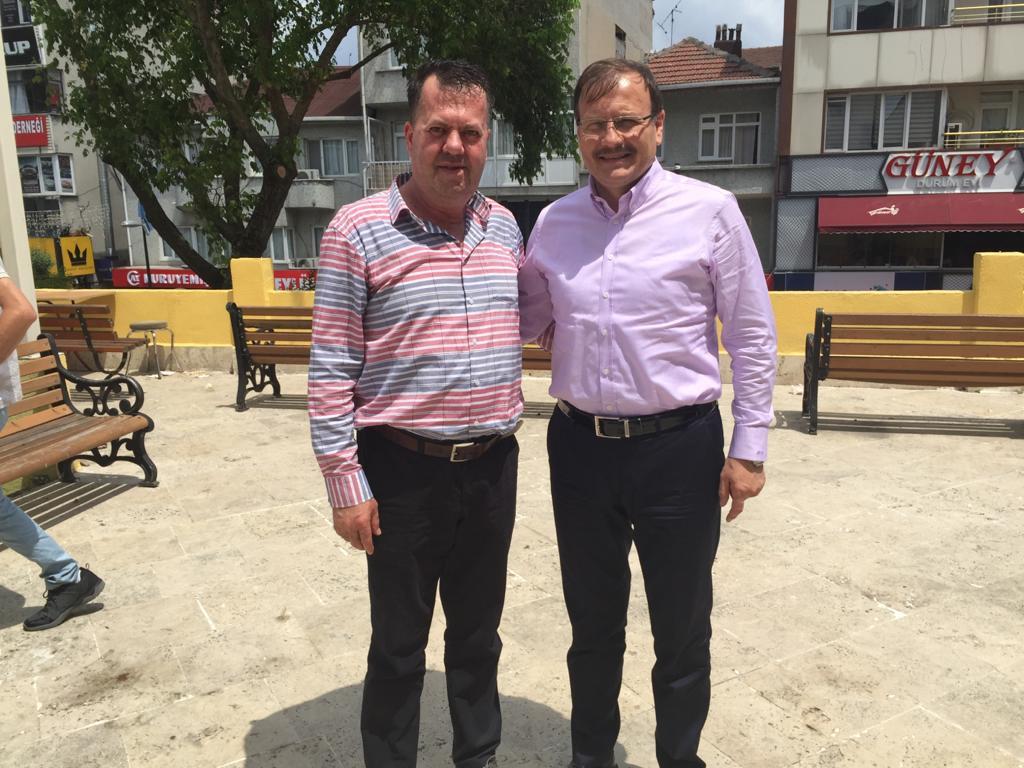 TBMM Komisyon Başkanı Çavuşoğlu'ndan teşekkür mesajı