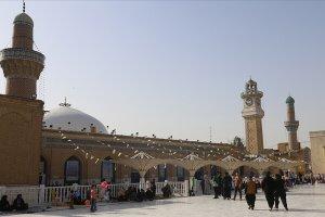 TİKA tarafından Bağdat'taki Abdulkadir Geylani Türbesi'ne Gavs-ı Azam örtüsü serildi