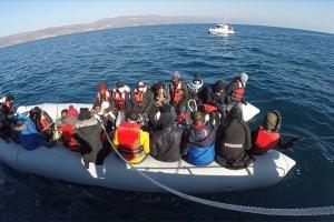 Yunanistan'ın Midilli Adası'na gitmeye çalışan sığınmacılar yakalandı