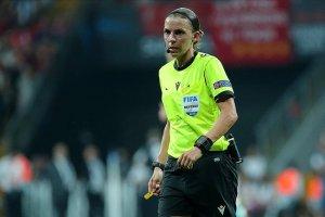 UEFA Şampiyonlar Ligi'nde ilk kez kadın hakem