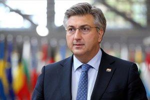 Başbakan Plenkovic'in Kovid-19 testi pozitif çıktı