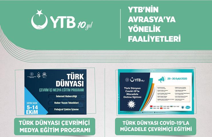 YTB, 2020 yılında Avrasya bölgesine yönelik birçok faaliyet hayata geçirdi