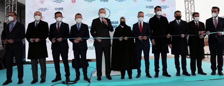 Cumhurbaşkanı Erdoğan, Ankara Geleneksel Sporlar Tesisleri'nin açılış törenine katıldı