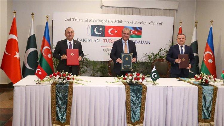 Türkiye, Azerbaycan ve Pakistan'dan birçok alanda iş birliğini derinleştirecek
