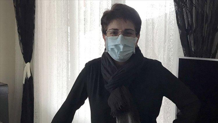 Fransa'da salgında fedakarca çalışan Türk vatandaşı hastane personeli Safiya'ya liyakat nişanı