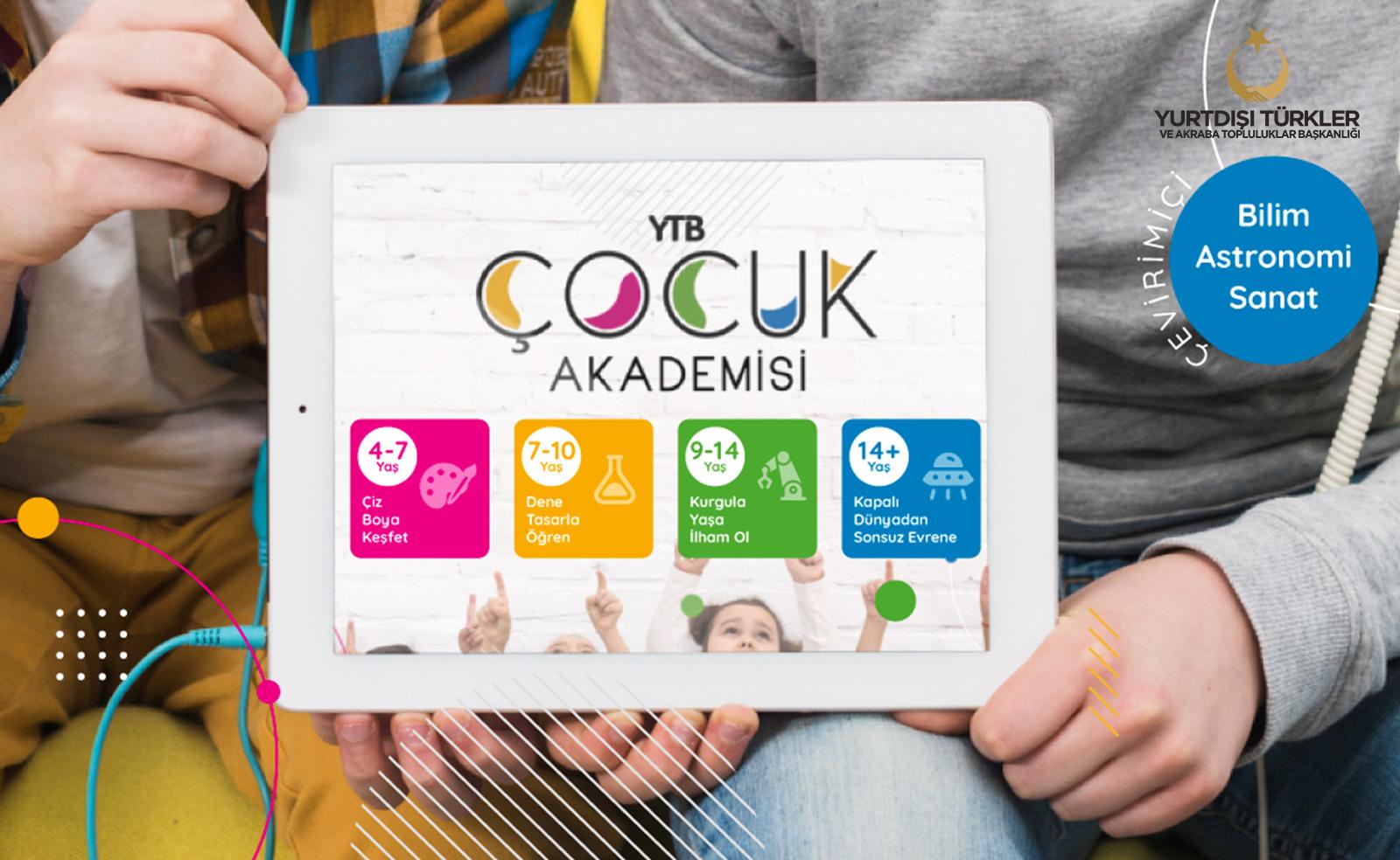 YTB, yurt dışındaki çocukları bilim, sanat ve felsefeyle buluşturuyor