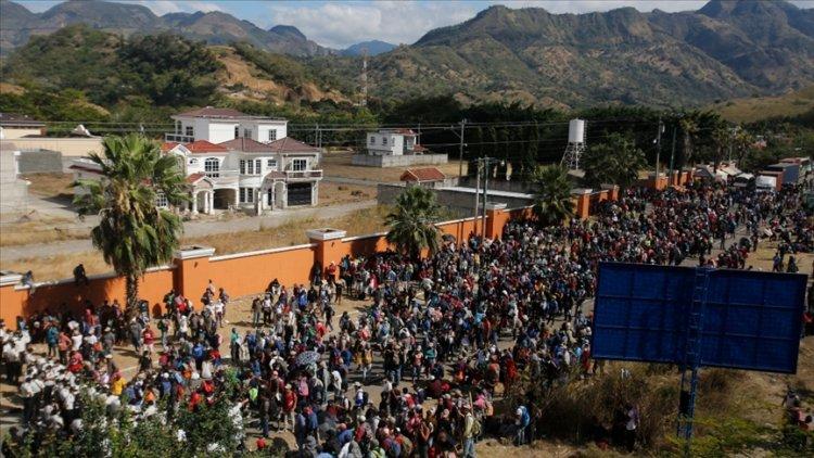 Başkan Joe Biden yönetiminden binlerce göçmene 'şimdi gelme' çağrısı