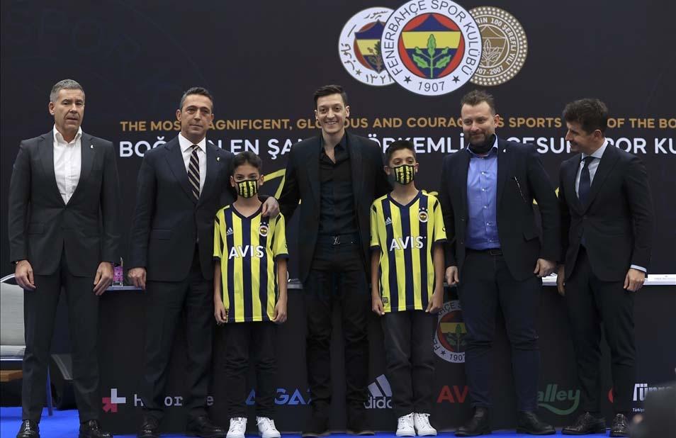 Mesut Özil'in yıllardır düşündüğü gerçek oldu, artık Fenerbahçe'de