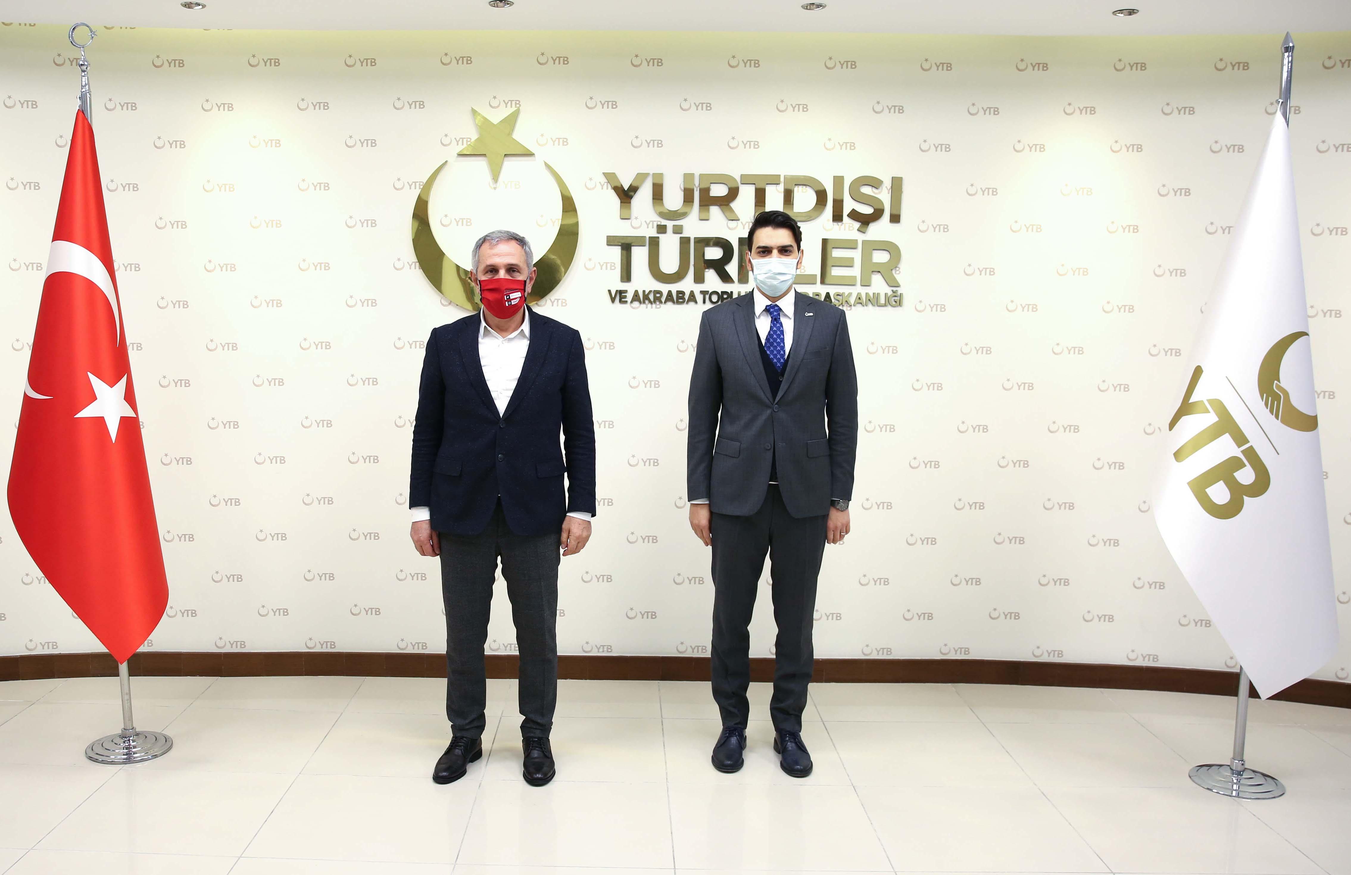 UID Genel Başkanı Kuş, YTB Başkanı Eren'i ziyaret etti