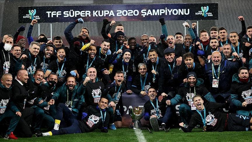 Süper Kupa Trabzonspor'un