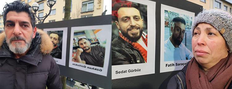 Almanya'da Hanau'da ırkçı terör saldırısının kurbanları anıldı