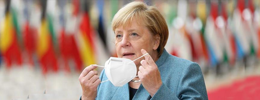 Merkel virüs salgınında üçüncü dalga uyarısı yaptı