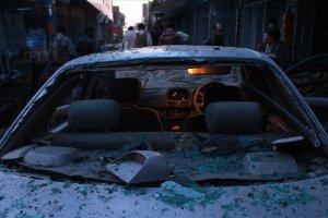 Afganistan'da bomba yüklü araçla saldırı düzenlendi