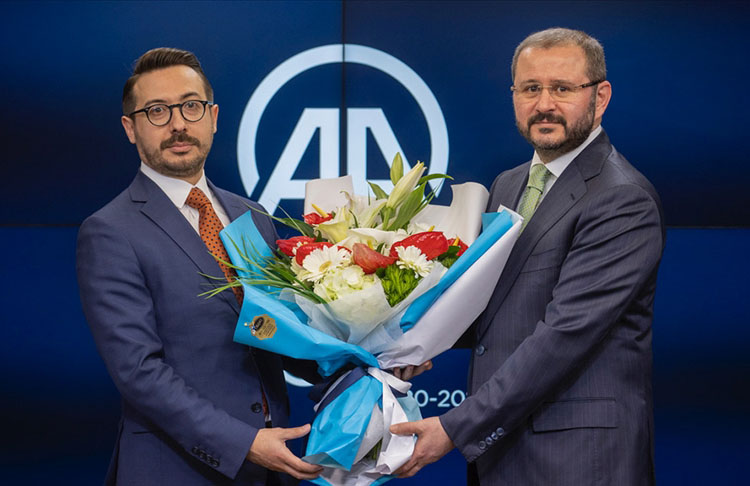 Anadolu Ajansının yeni Başkanı Serdar Karagöz