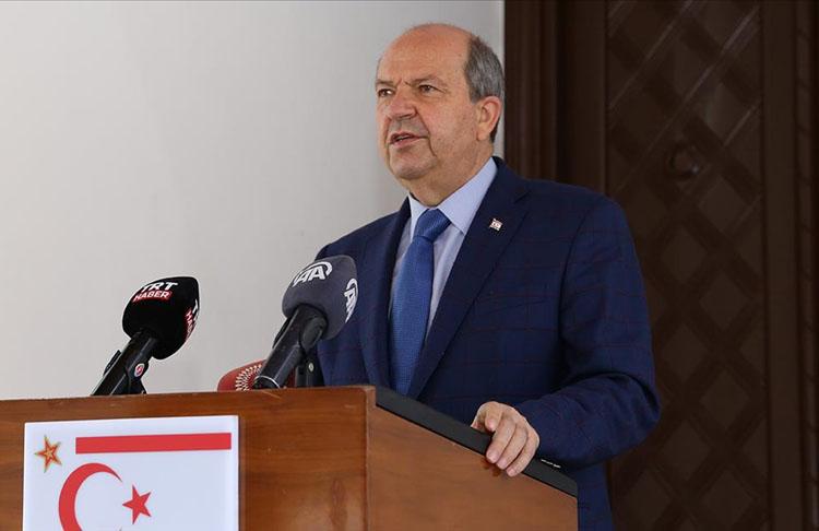 KKTC Cumhurbaşkanı Tatar: Bizim istediğimiz, Kıbrıs Türk halkının kendi varlığını