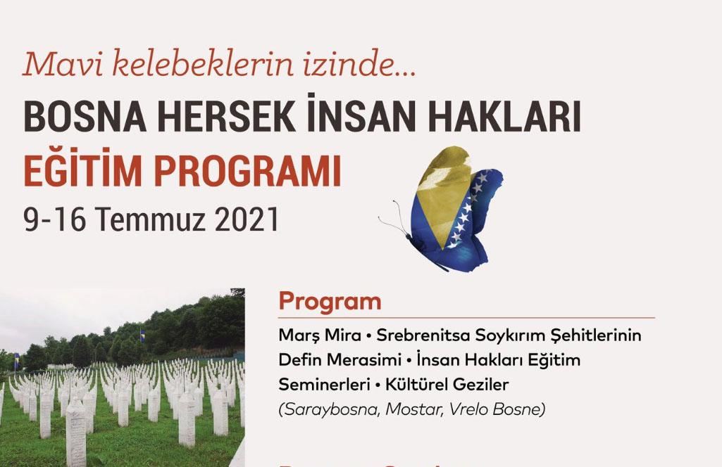 YTB'nin Bosna-Hersek'te düzenleyeceği insan hakları eğitim programı'na başvurular başladı