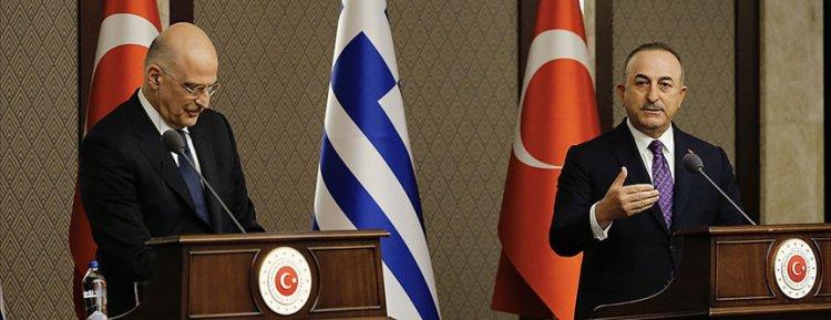 Bakan Çavuşoğlu: Yunanistan'la sorunların yapıcı diyalog yoluyla çözülebiliriz