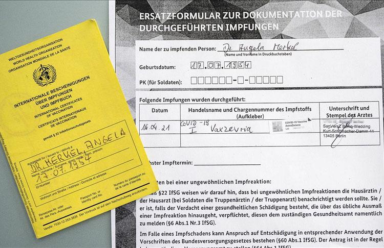 Almanya Başbakanı Merkel, AstraZeneca aşısını terci etti