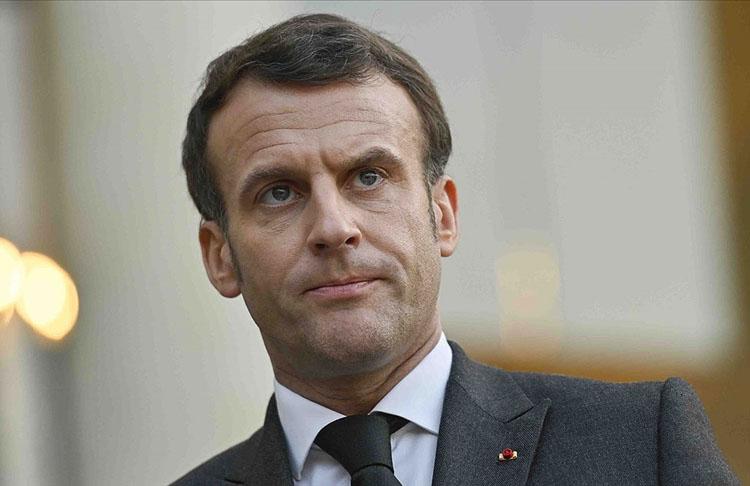 Macron: Rusya'ya ilişkin kırmızı çizgilerimizi çizmeliyiz
