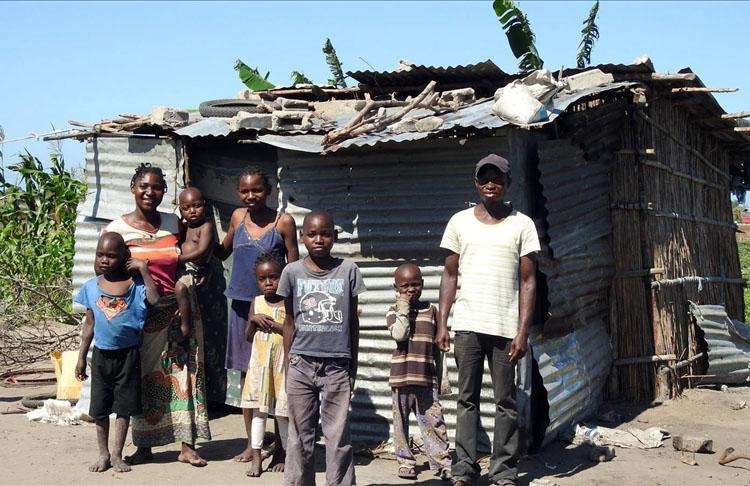 Mozambik'te 950 bin kişi insani yardım bekliyor