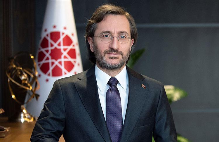 Cumhurbaşkanlığı İletişim Başkanı Altun: TRT Genel Müdürü İbrahim Eren'i tebrik etti