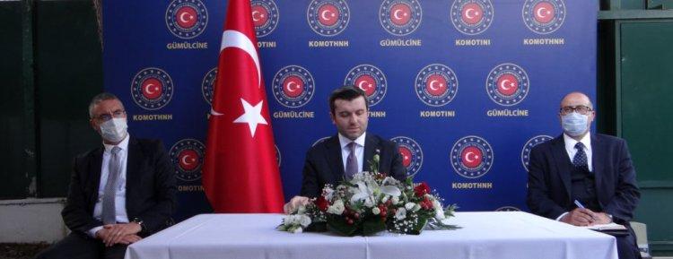 Dışişleri Bakanı Yardımcısı Kıran Batı Trakya'da