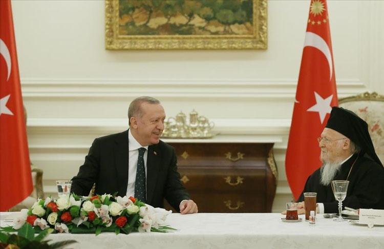 Cumhurbaşkanı Erdoğan azınlık cemaatlerinin temsilcileriyle iftarda bir araya geldi