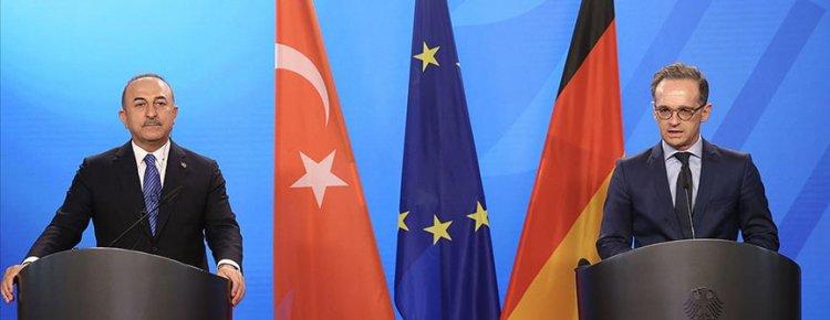 Almanya Dışişleri Bakanı Maas: Almanya olarak her zaman Türkiye ile yapıcı bir ilişkiyi savunuyoruz