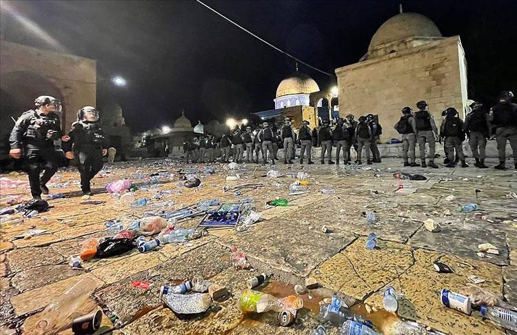 Arap ülkeleri İsrail'in Doğu Kudüs'teki Filistinlilere yönelik saldırılarına kınadı