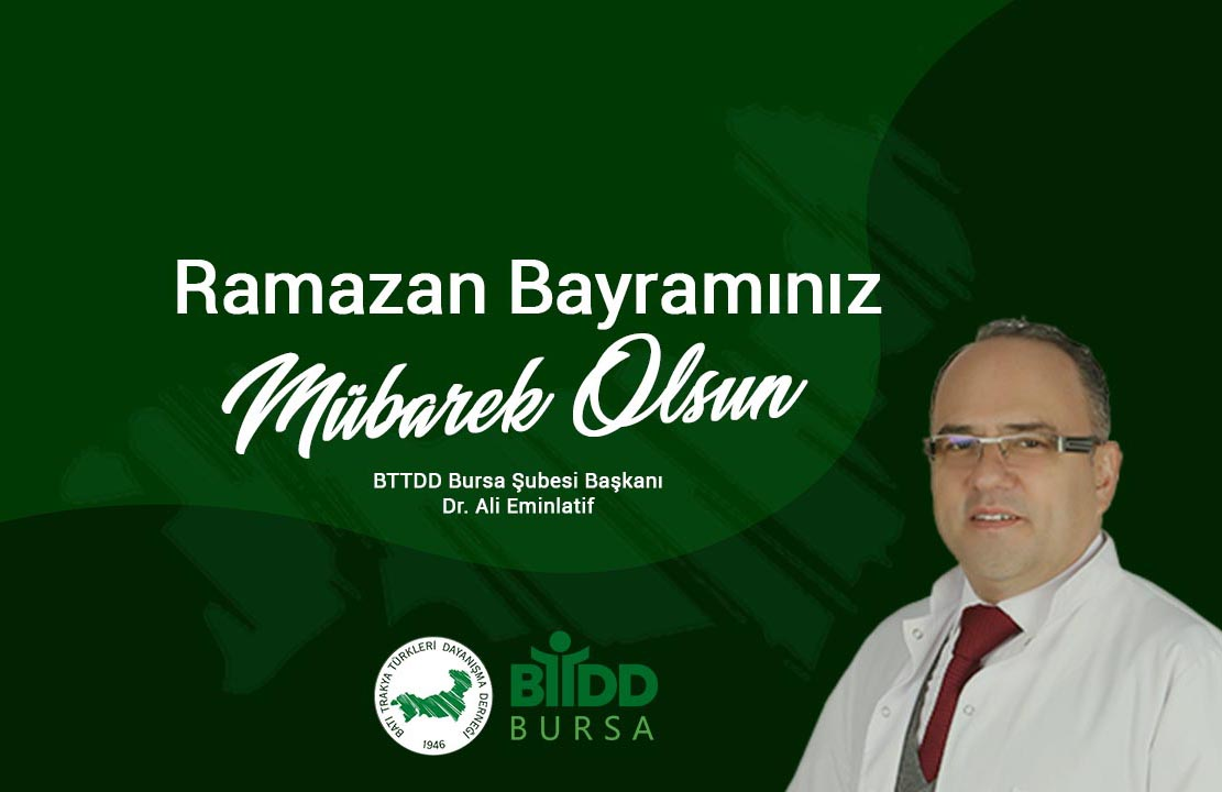 BTTDDBŞ Başkanın Bayram Mesajı