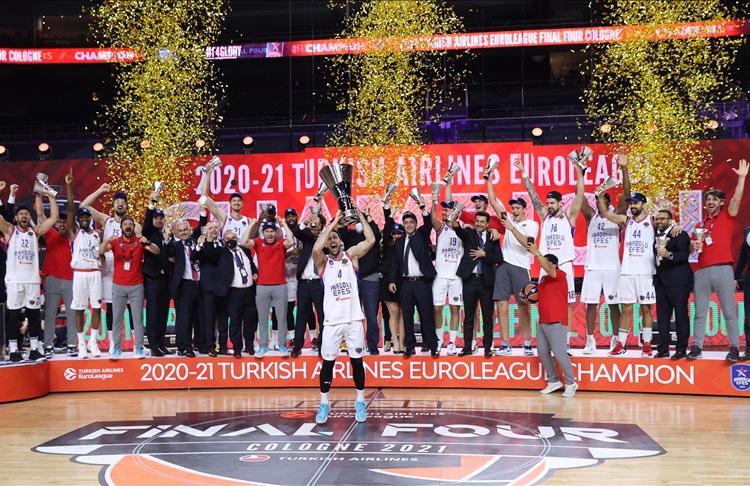 Avrupa basketbolunun en büyüğü biziz