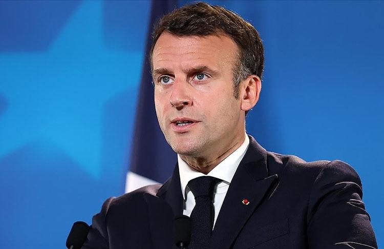 Macron, Irak'ta yapılacak erken seçimlere destek vereceyiz