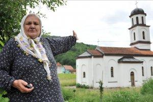 Boşnak Orloviç'in bahçesine izinsiz inşa edilen kilise yıkıldı