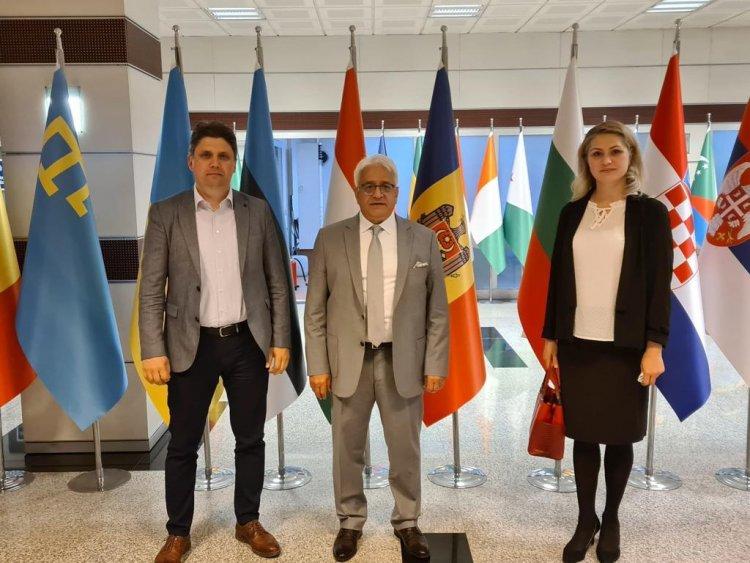 Gagavuz Türklerinden TİKA'ya anlamlı ziyaret