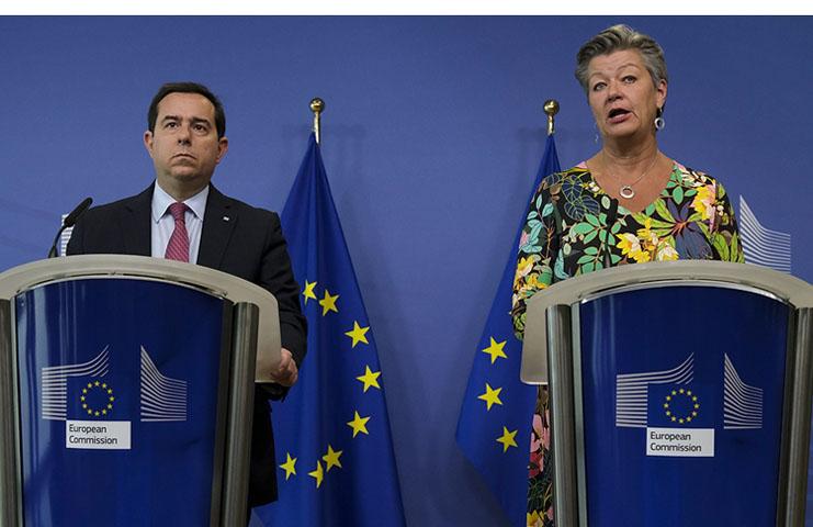 AB ile Yunanistan arasında Türkiye sınırındaki 'ses topu' anlaşmazlığı